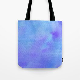 Blues & Purples Watercolor Tote Bag