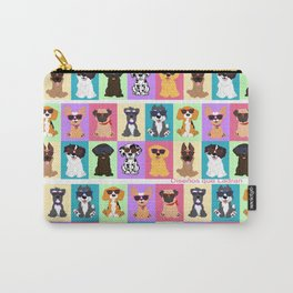 Doggi Breeds summer by Diseños que ladran Carry-All Pouch
