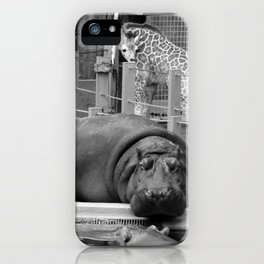 Hippo's and Giraffe iPhone Case