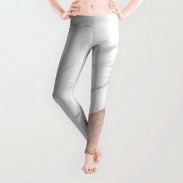 Marble with sequins and mother of pearl Leggings