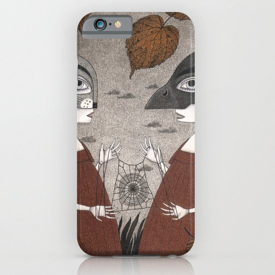 Ana and Eva (An All Hallows' Eve Tale) iPhone & iPod Case