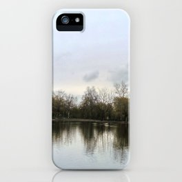 Nature, landscape and twilight 9 iPhone Case