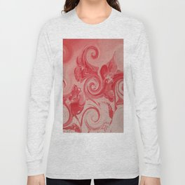 """""""Red Curl"""" Long Sleeve T-shirt"""