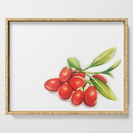 Group o' Goji berries Serving Tray