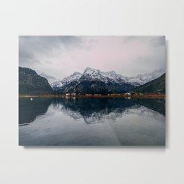 Nature Reflects Metal Print