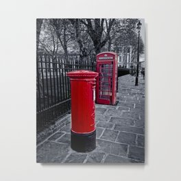 Red is the Colour Metal Print