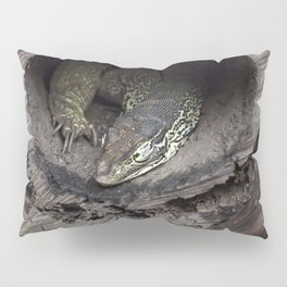 Sleeping lace monitor Pillow Sham