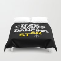 nietzsche Duvet Covers featuring ALSO SPRACH ZARATHUSTRA by THE USUAL DESIGNERS