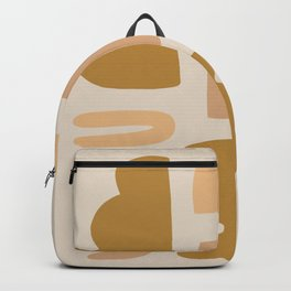 clay pattern Backpack
