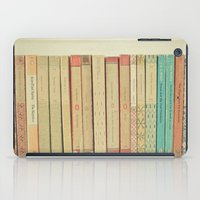 books iPad Cases featuring Books by Cassia Beck