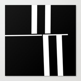Anxiety Rectangles 1 #minimalism #abstract #geometry #society6 Canvas Print