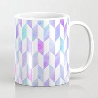 geo Mugs featuring Geo by Courtney McFarland