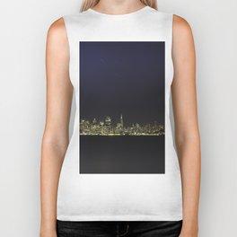 San Francisco Skyline #4 Biker Tank