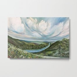 Tennessee River Metal Print