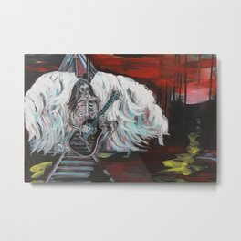 Raising the Souls Metal Print