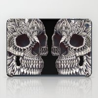 ornate elephant iPad Cases featuring Ornate Skull by BIOWORKZ