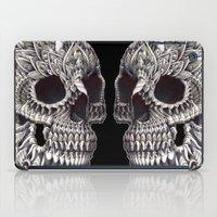 bioworkz iPad Cases featuring Ornate Skull by BIOWORKZ