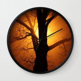 Gods and trees Wall Clock