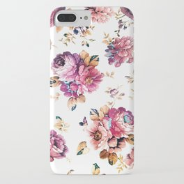 VINTAGE FLOWERS XXXIV - for iphone iPhone Case