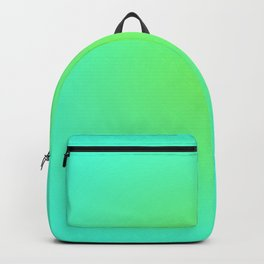 Green Blue Backpack