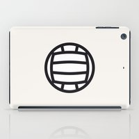 volleyball iPad Cases featuring Volleyball - Balls Serie by Brigada Creativa