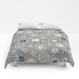 pango pewter Comforters