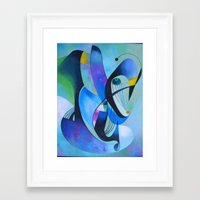 ruben Framed Art Prints featuring ruben 03 by  Alexandra's Collection
