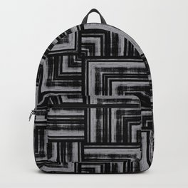 Abstract Overlap Backpack
