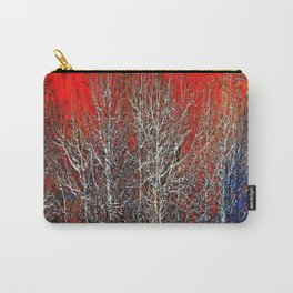White Trees Carry-All Pouch