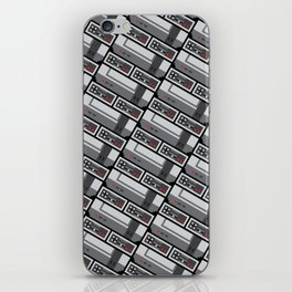 NES PIXEL PATTERN iPhone Skin