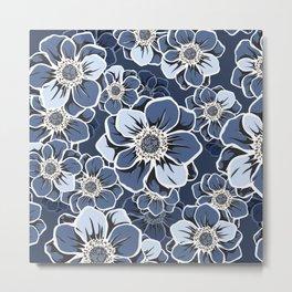 Mandala Flowers 12 Metal Print
