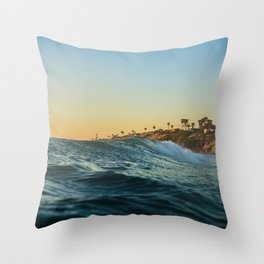 My favourite street view Throw Pillow