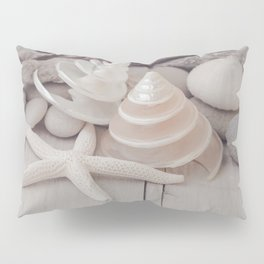 Beach Still Life With Shells And Starfish Pillow Sham