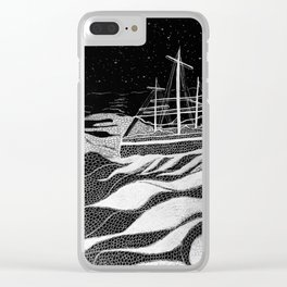 Sailing With The Stars Clear iPhone Case