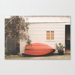 Boatman's Shack Canvas Print
