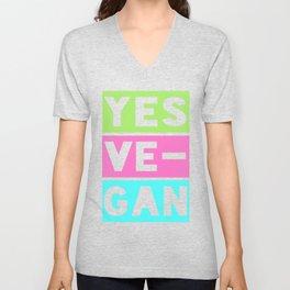 Yes Ve-Gan Unisex V-Neck
