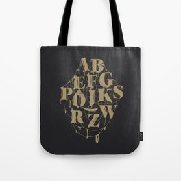 Type Splatt Tote Bag