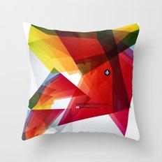 Abstrakt Throw Pillow
