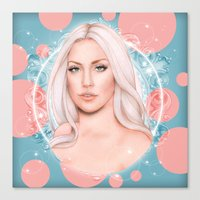 artrave Canvas Prints featuring ArtRave by Will Costa
