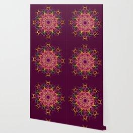Abstract ethnic mandala. Wallpaper