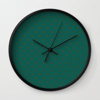 invader zim Wall Clocks featuring Invader by TRUA