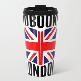 20Books London - Flag Logo Travel Mug