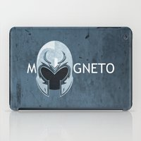 magneto iPad Cases featuring Magneto by Tony Vazquez
