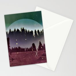 To Run With the Fireflies Stationery Cards