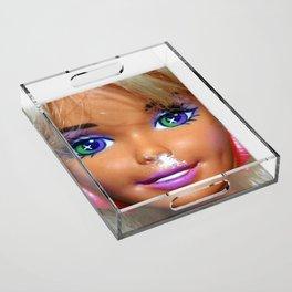 Party Girl Acrylic Tray