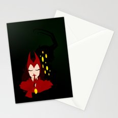 Mischief from Shadows (Lady Loki as Scarlet Witch) Stationery Cards