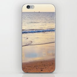 Relaxing Time on the Beach Sunday Afternoon iPhone Skin