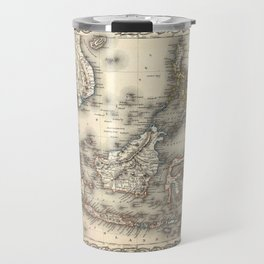 Map Of The East Indies 1855 Travel Mug