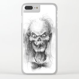 The Keeper of the Crypt Clear iPhone Case