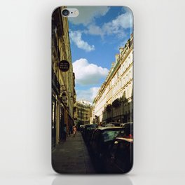 Paris in 35mm Film: Rue Malher in Le Marais iPhone Skin